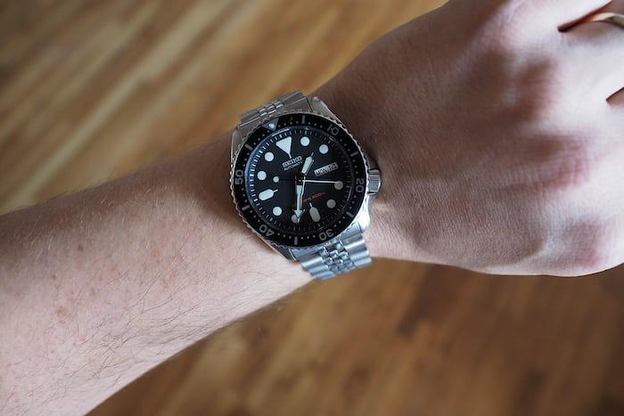 seiko skx007 dive watch