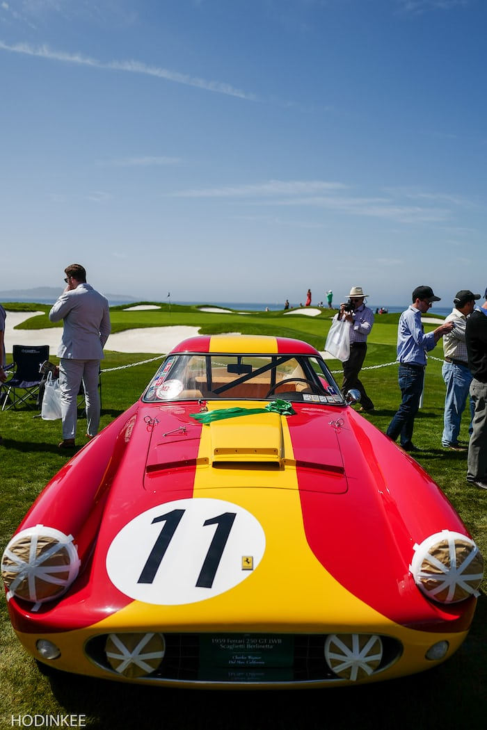 Weekend report watch and car spotting at the 2015 pebble beach concours d 39 elegance hodinkee - Pebble beach car show ...