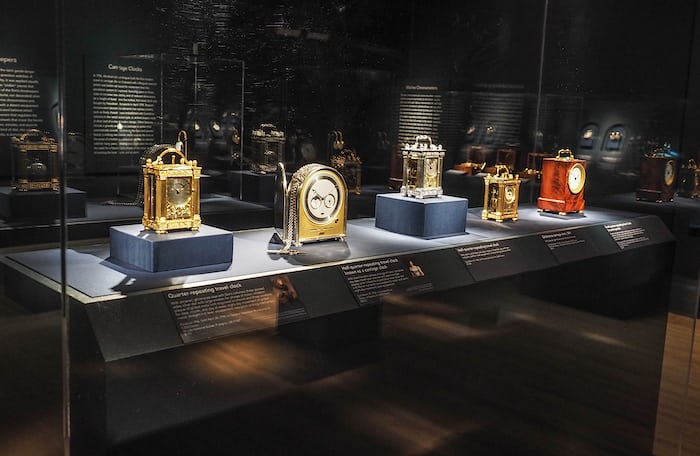 "Breguet ""carriage clocks"" designed for use while traveling"