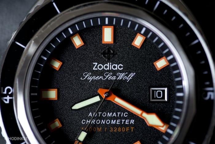 Zodiac Super Sea Wolf 68 Limited Edition COSC