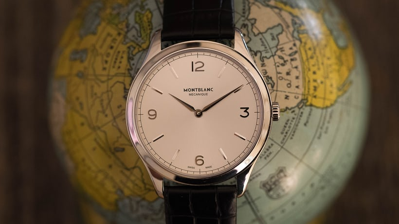 The Montblanc Heritage Chronometrie Ultra Slim
