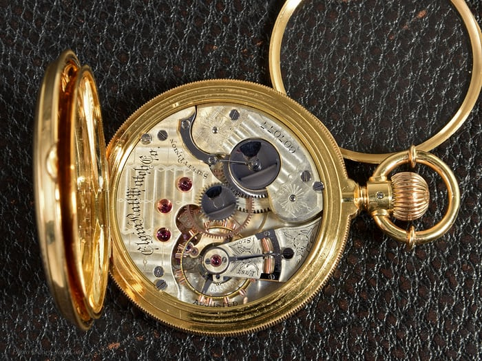 "Elgin, 21 jewel, grade '72 ""convertible"" (movement)"