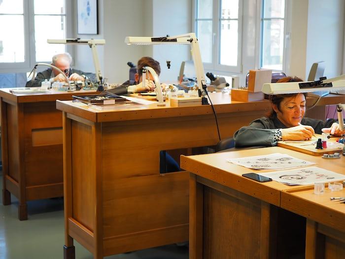 Parmigiani Fleurier Haute Horlogerie workshop