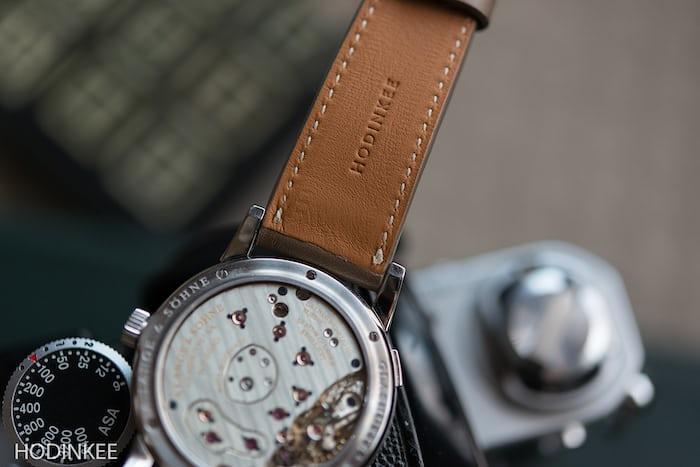 Smooth Taupe Calfskin Watch Strap HODINKEE Shop
