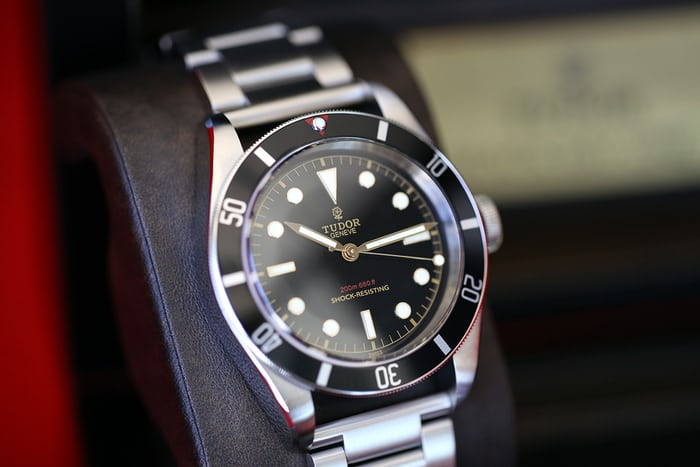 7d659451287 Breaking News  The Tudor Black Bay One At Only Watch 2015 Sells For ...