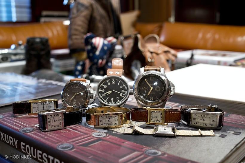 Ralph Lauren's watches