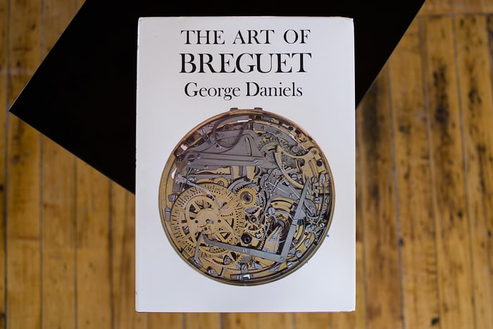 The Art of Breguet George Daniels book