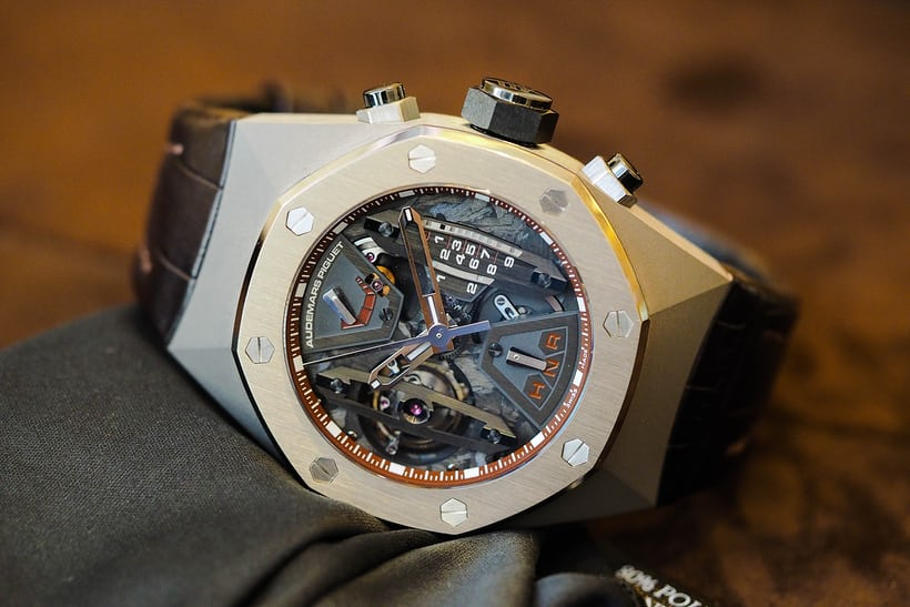 royal oak concept tourbillon chronograph