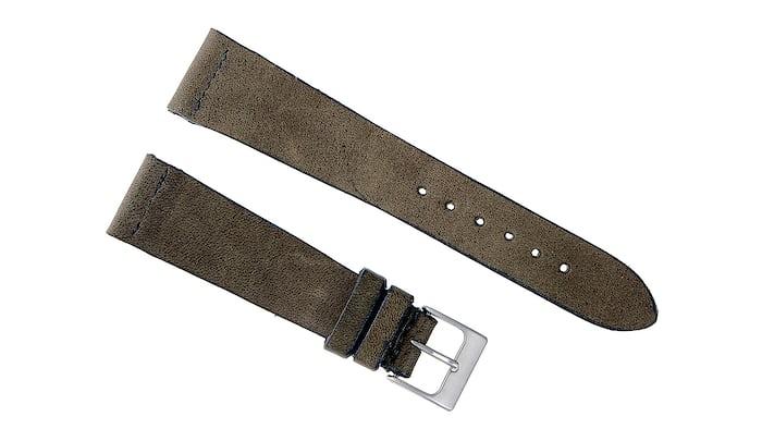 Dark Olive Calfskin Watch Strap