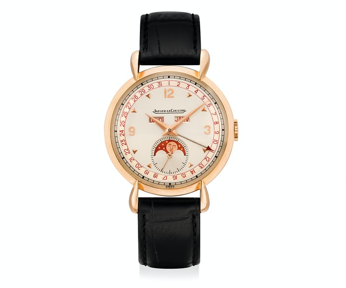 A Triple Calendar With Moon Phase From Jaeger LeCoultre