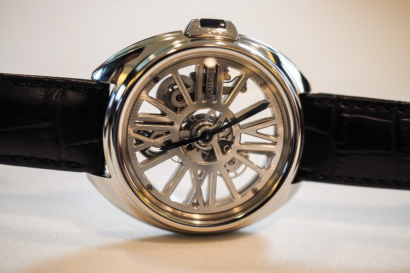 cle de cartier skeleton