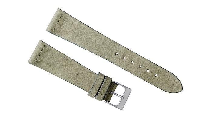 Moss Green Calfskin Watch Strap