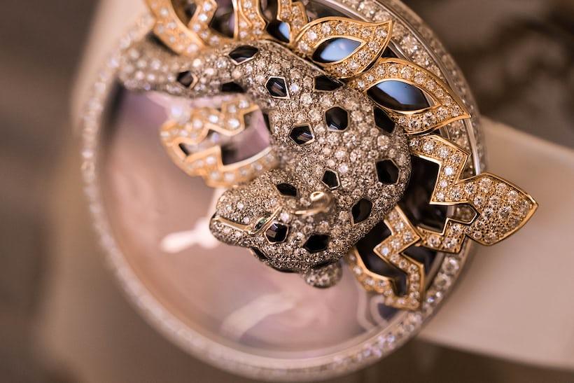 The Les Indomptables de Cartier Décor Watch