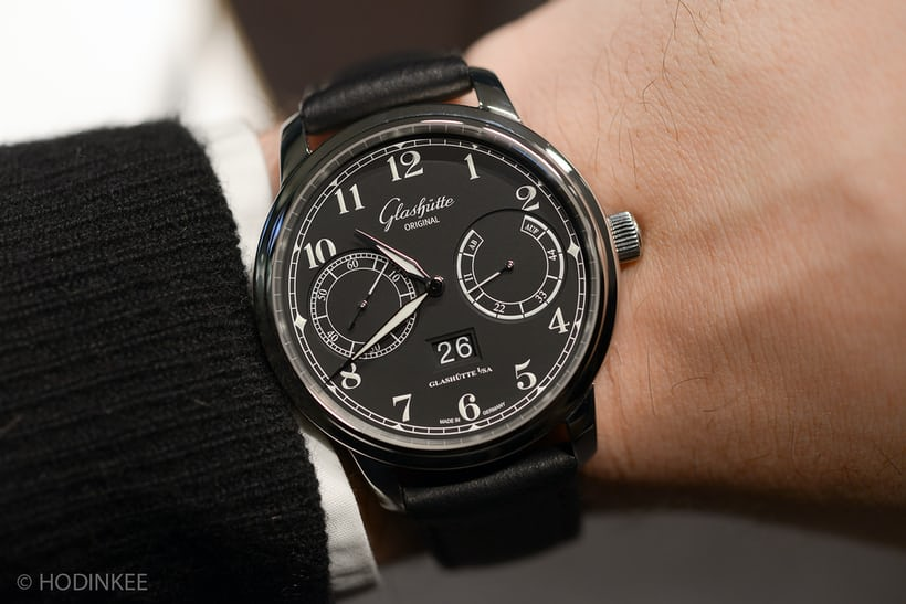 The Glashütte Original Senator Observer