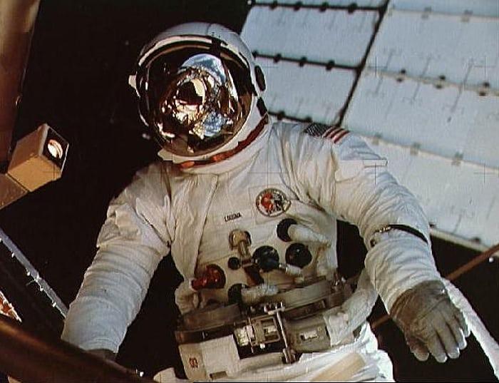 Jack Lousma EVA Skylab 3, Speedmaster