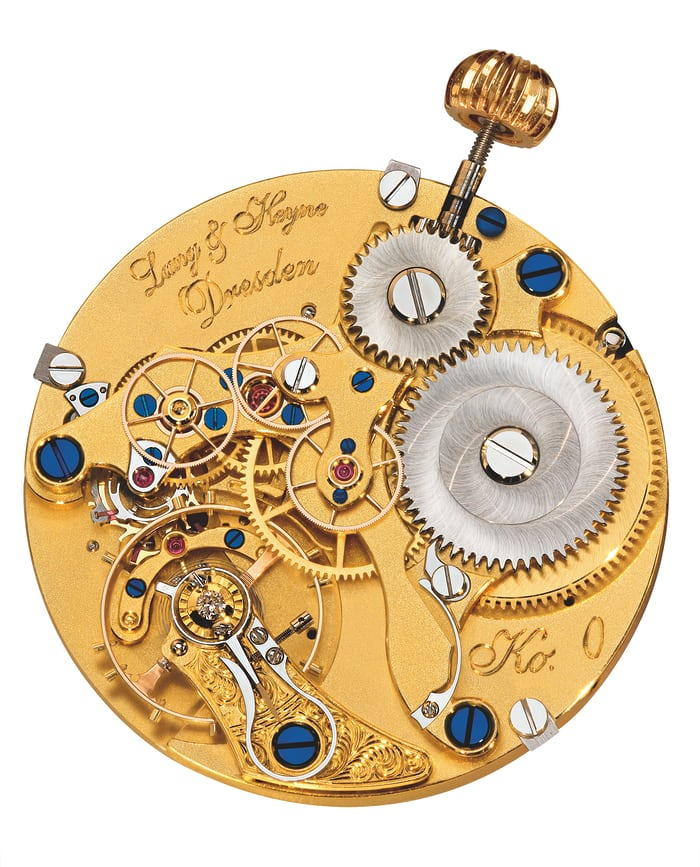 Lang & Heyne Caliber V, used in the Markgraf Heinrich