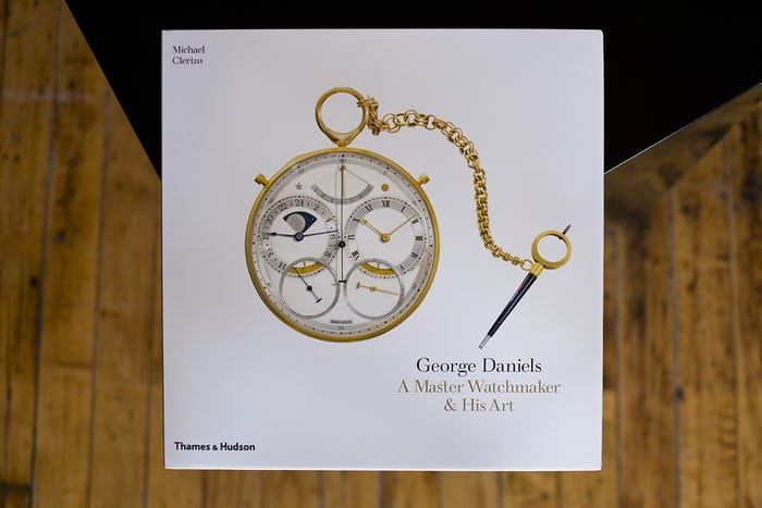 George Daniels A Master Watchmaker And His Art Michael Clerizo