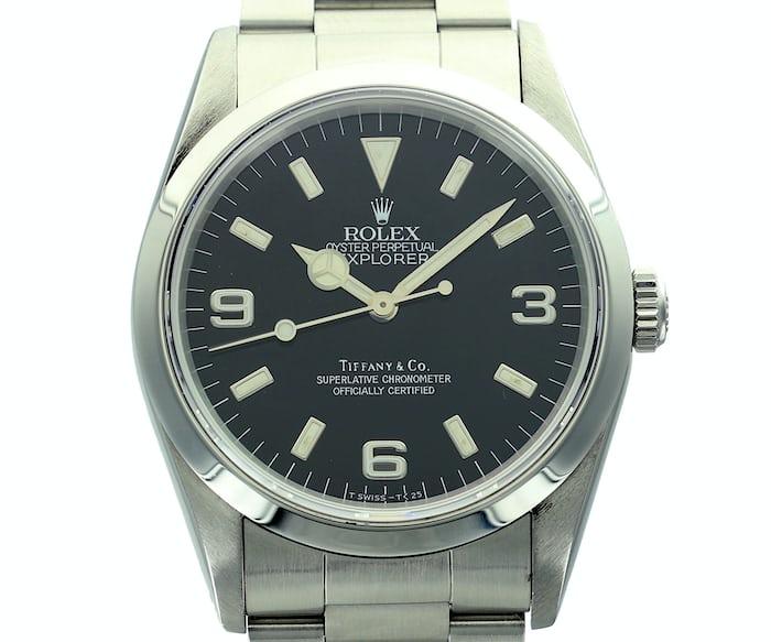 Rolex Explorer 14270 Tiffany's dial