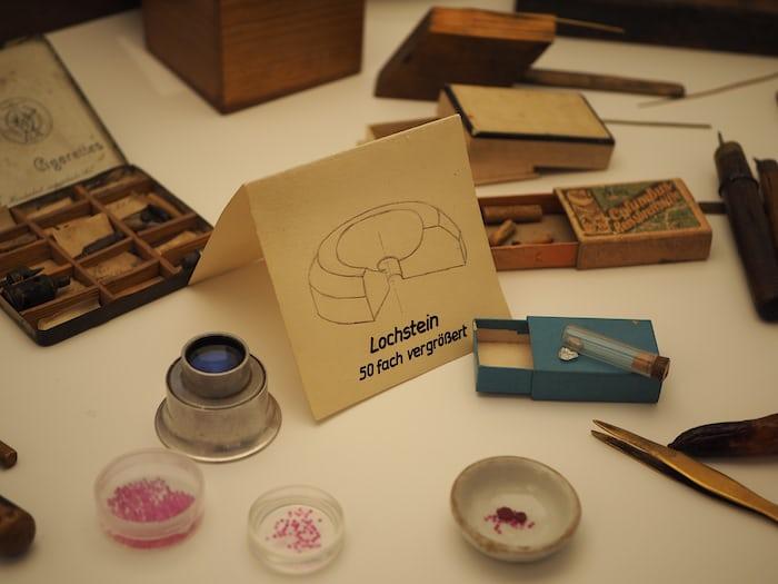 Jewel production in Glashütte