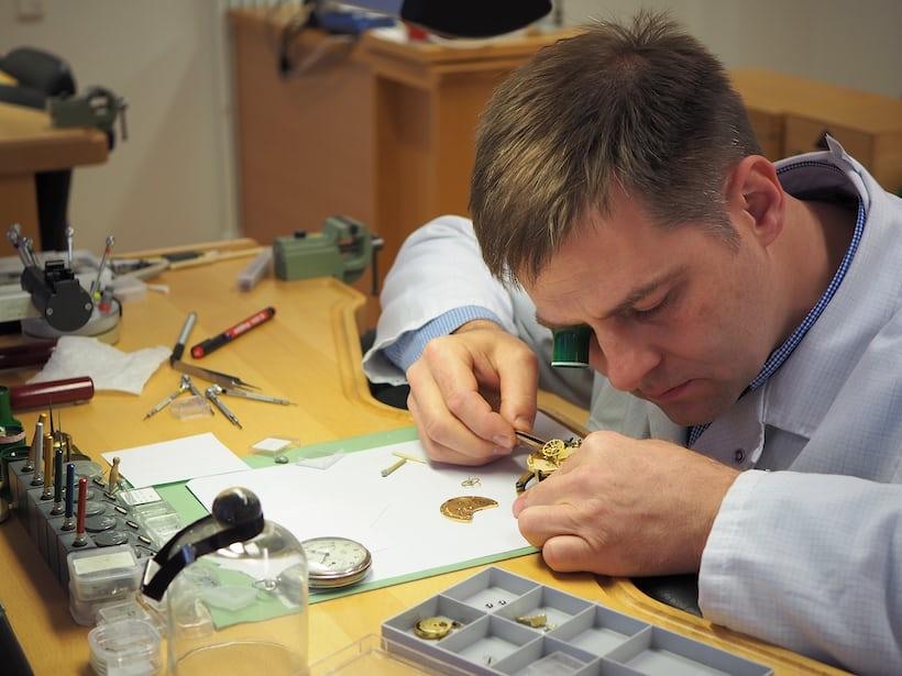 Jurgen Franke at work