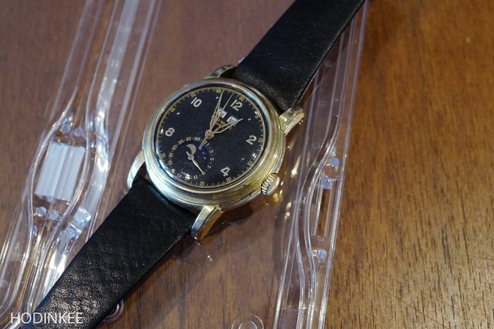 Patek 2497 Black Dial
