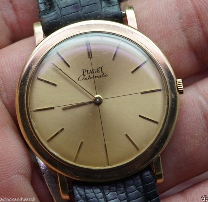 Piaget, Altiplano Reference 12103 Calibre Movement 12P