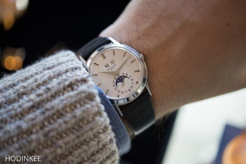 Patek Philippe reference 3448 wristshot
