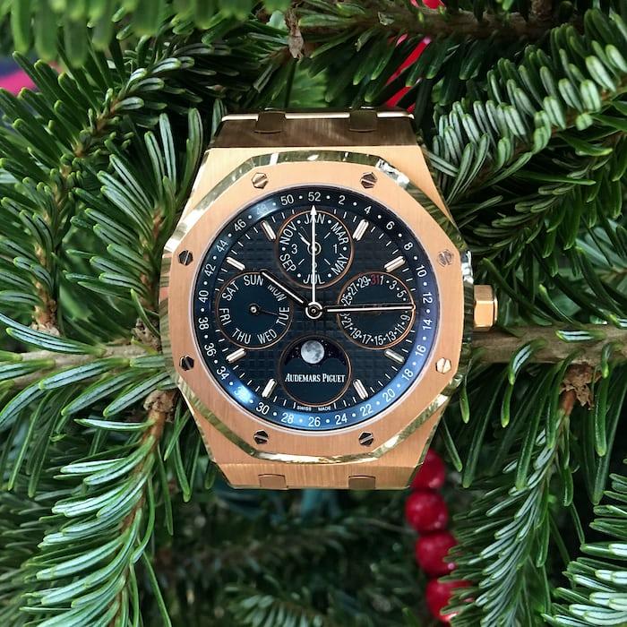 HODINKEE watch I wore most in 2015, Audemars Piguet 41 MM Perpetual Calendar
