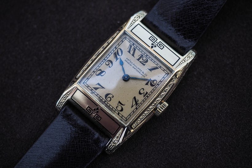 wristwatch belonging to Asa Chandler owner of coca cola