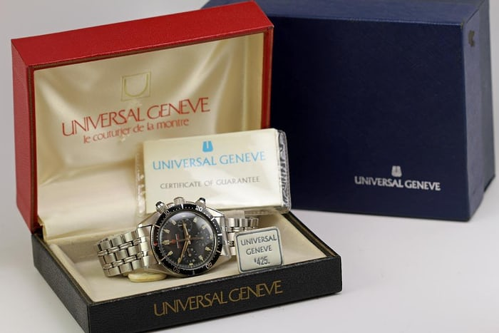 Universal Geneve Space Compax