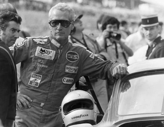 Paul Newman At The 1979 24 Hours Of Le Mans