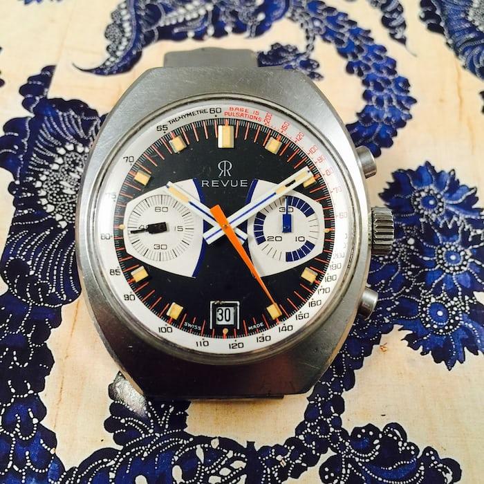 Revue Chronograph Valjoux 7734