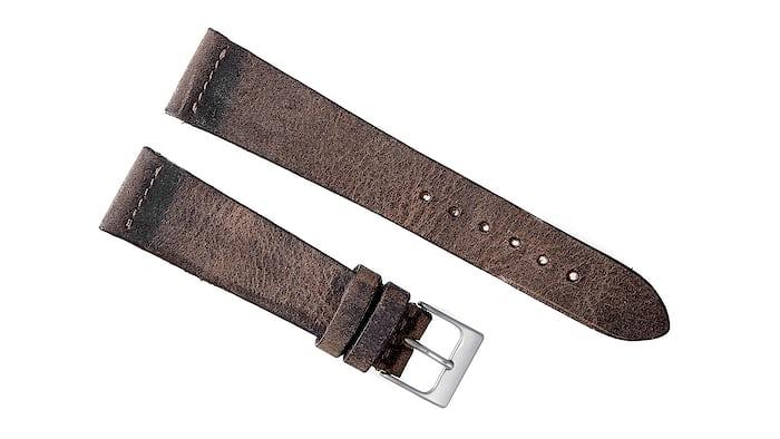 Brown Calfskin Watch Strap