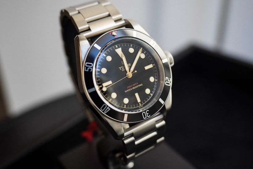 Tudor Only Watch Heritage Black Bay One 2015