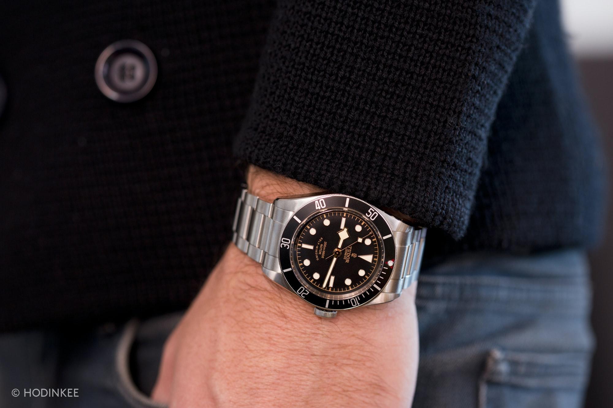A Week On The Wrist The New Tudor Heritage Black Bay