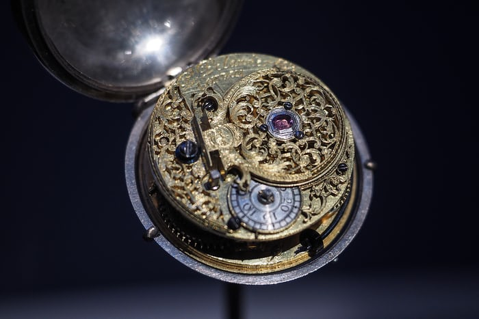 Delander pocket watch with pink diamond endstone Pierpont Morgan Metropolitan Museum of Art
