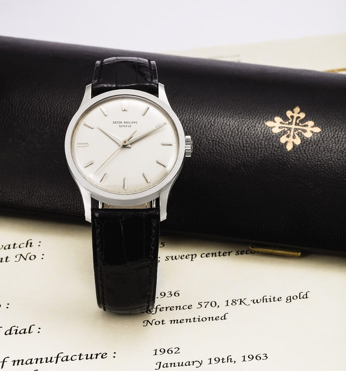 Patek Philippe Reference 570 35 mm
