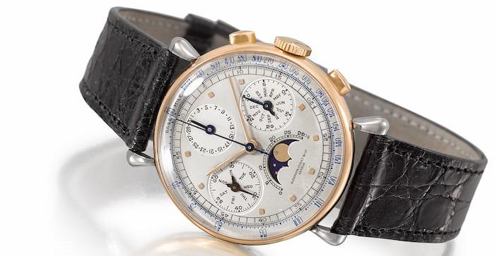 Vintage Audemars Piguet Triple Calendar Chronograph