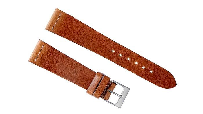 Faded Brown Calfskin Watch Strap