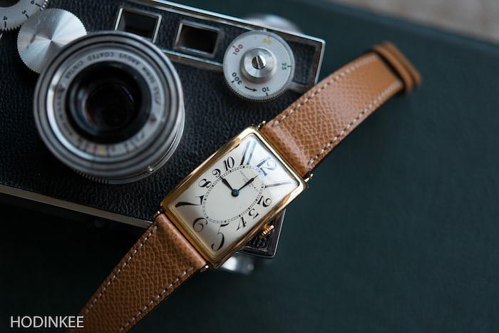 Textured Tan Calfskin Watch Strap HODINKEE Shop