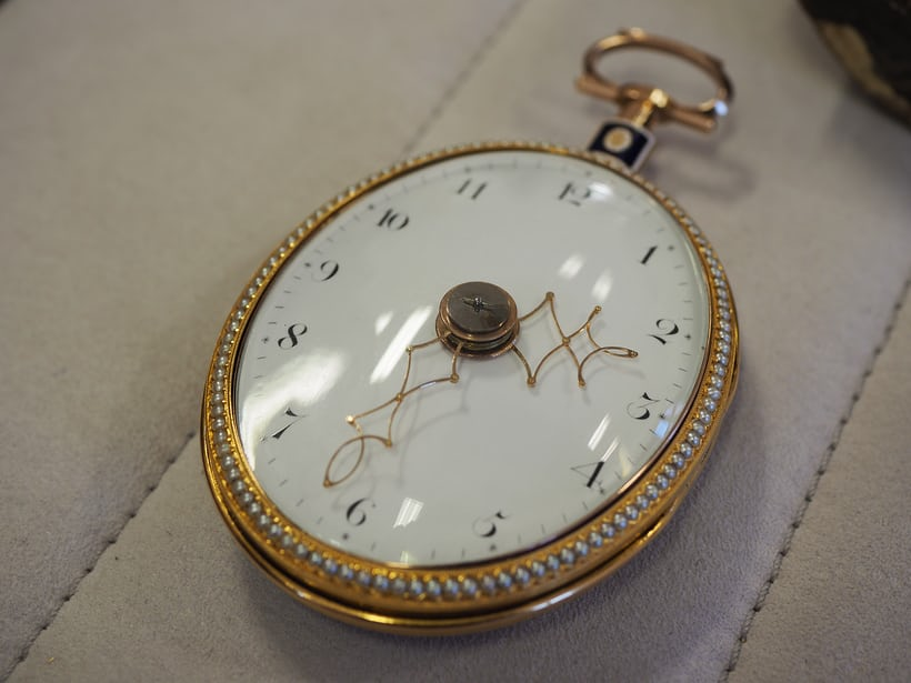 The original pantograph watch from the early 1800s
