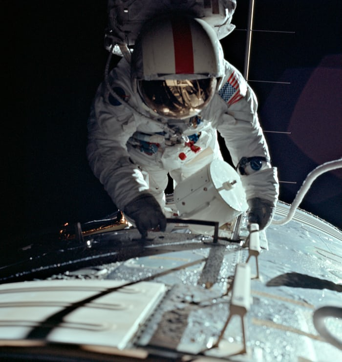 Ron Evans EVA Apollo 17 Speedmaster