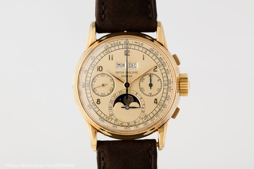 Patek 2499 first series