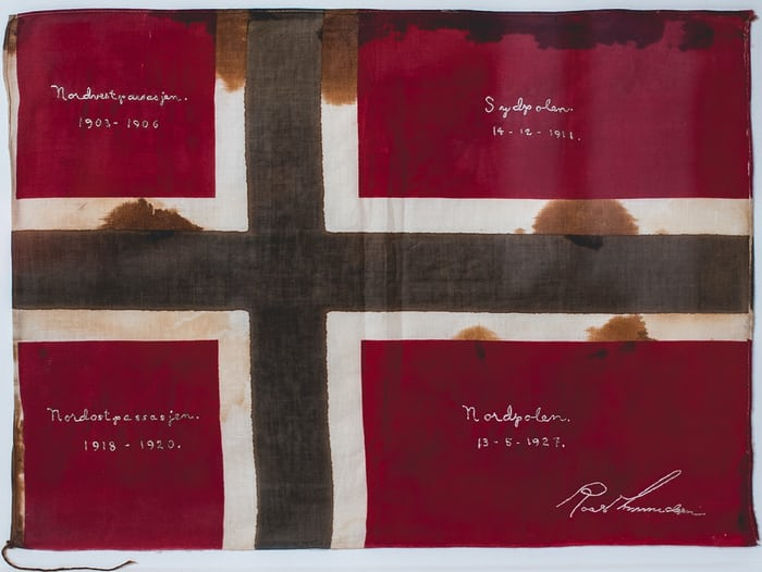 amundsen expedition flag