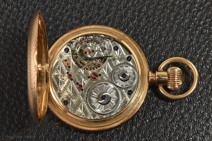 "Waltham ""American Watch Company"" grade, 21 jewel, model 1872 (movement)"
