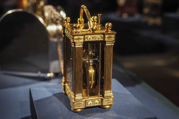 Breguet Carriage Clock with Calendar, 1813, The Frick Collection