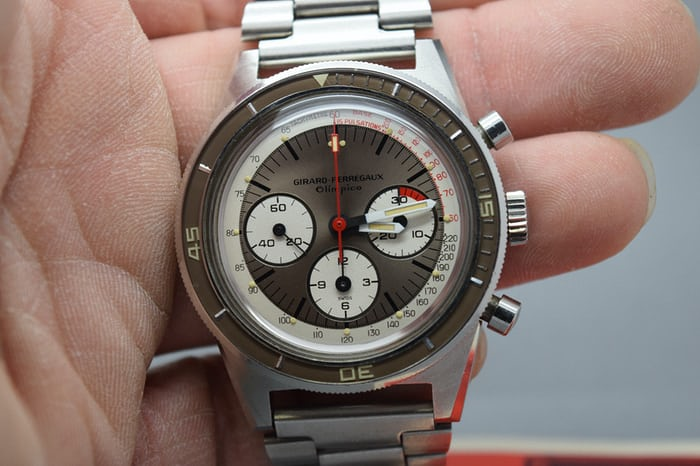 A Girard Perregaux Olimpico Reference 9075