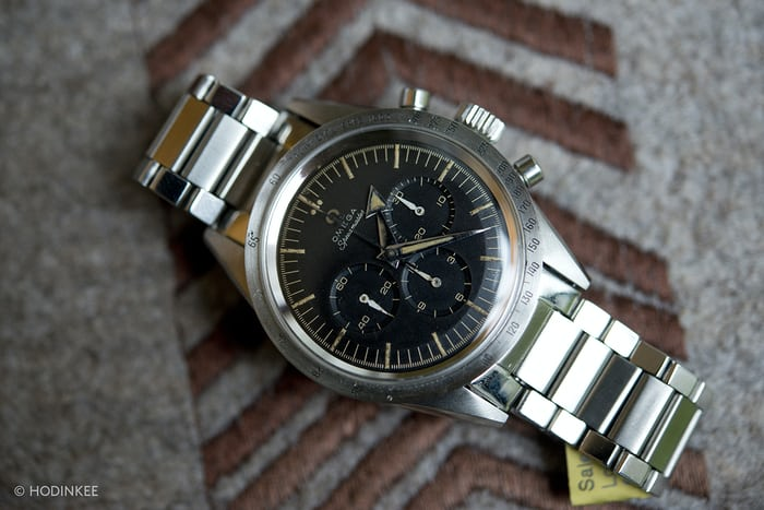 An Omega Speedmaster Reference 2915-1.