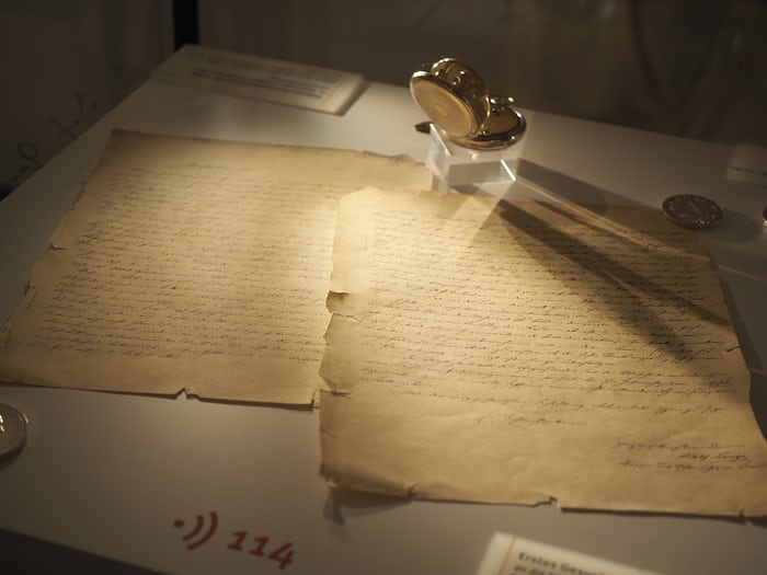 F. A. Lange's original letter to the Royal Saxon government