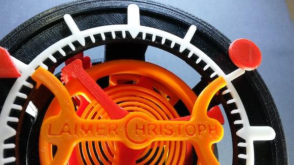 Christoph Laimer's 3D Printed Tourbillon Watch